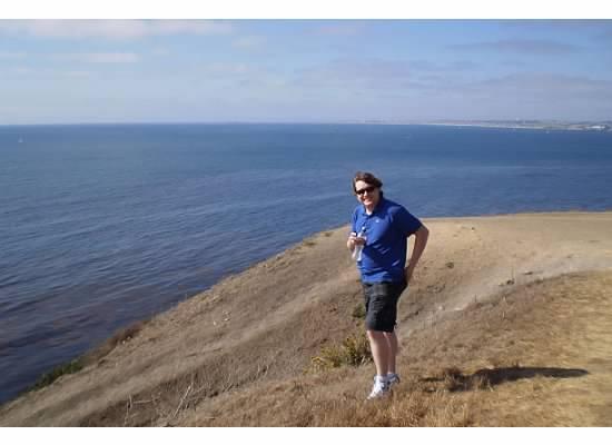 Aaron by the ocean