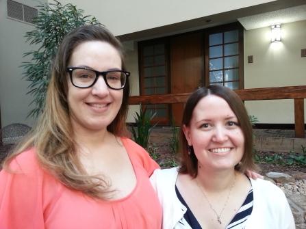Kristin and Priscilla